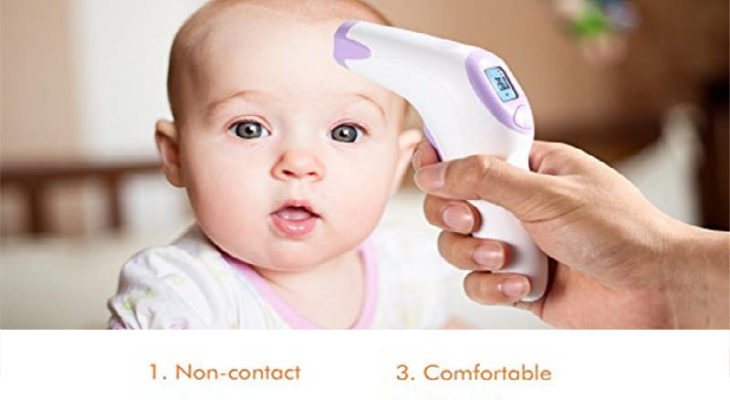 Dr. Meter FT376 medical forehead thermometer review