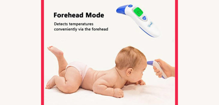 implife Dual Mode Forehead and Ear thermometer