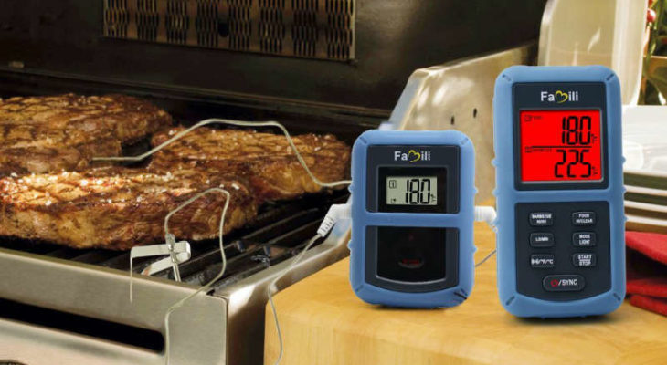 Famili OT008 wireless digital meat cooking thermometer
