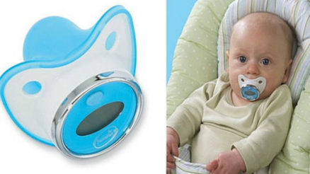 Summer infant pacifier thermometer review