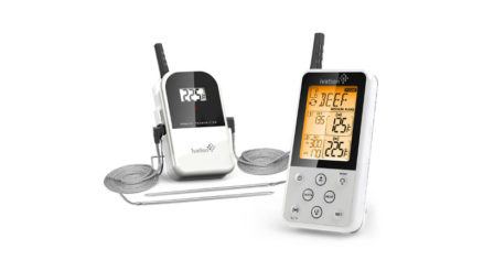Ivation wireless extended range digital cooking thermometer