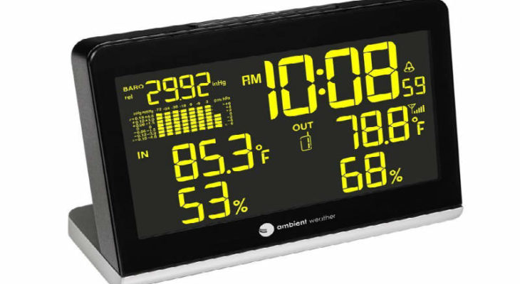 Ambient Weather WS-8600 Weather Station Clock review
