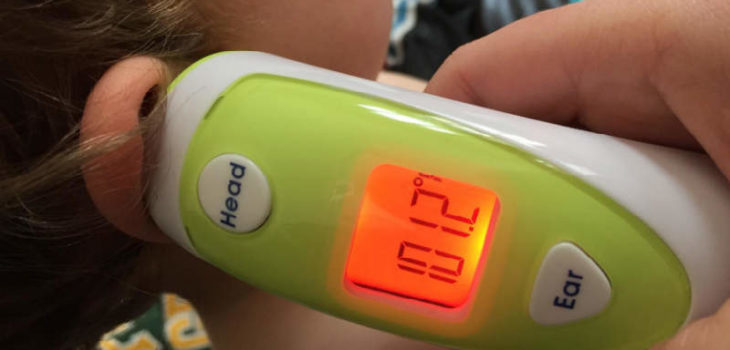 Generation Guard clinical ear and forehead thermometer review