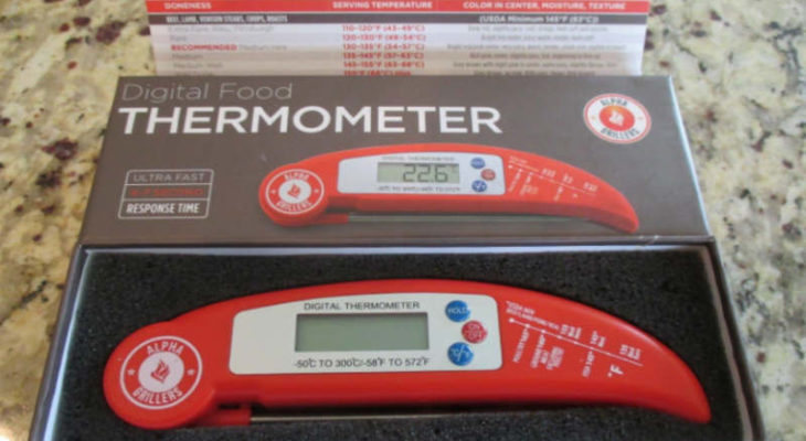 Alpha Grillers javelin meat thermometer review