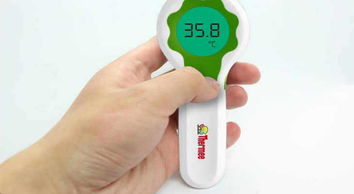Thermee non-contact forehead thermometer review