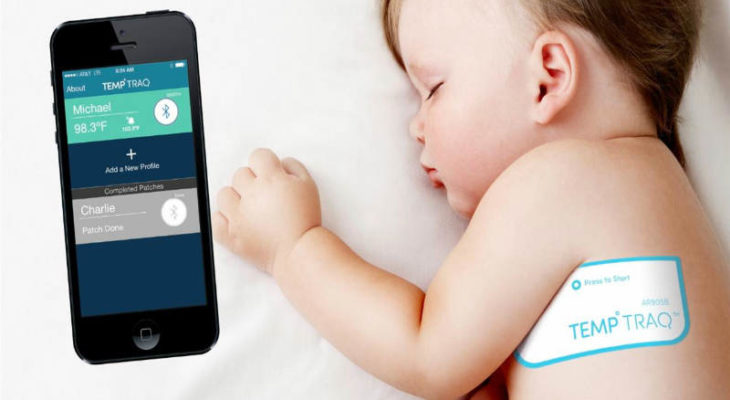 TempTraq intelligent baby fever monitor with wireless alerts