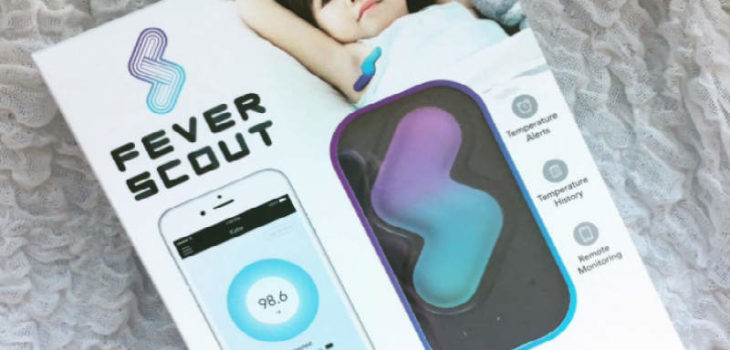 Fever Scout wireless thermometer patch