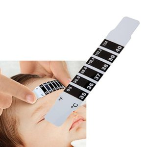 forehead thermometer strip