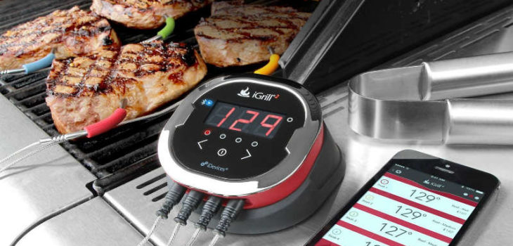 iGrill2 iDevices Wireless Bluetooth BBQ Meat Thermometer