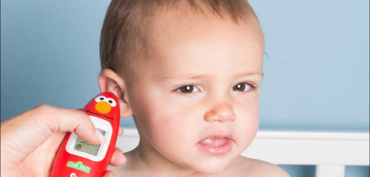 Kinsa Sesame Street Elmo Smart Ear Thermometer