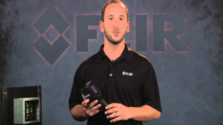 Flir E4 Compact thermal imaging camera can detect any heat leak