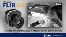 Flir Vue Pro thermal camera for drone