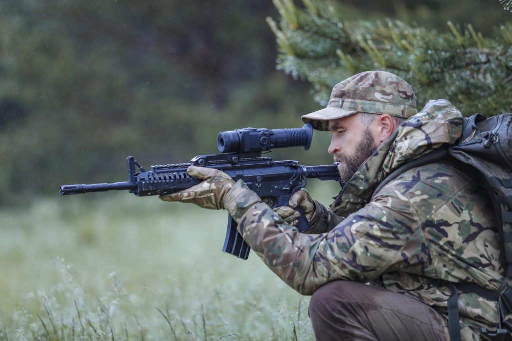 pulsar rxq thermal hunting scope