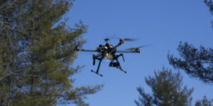 thermal drone for search and rescue