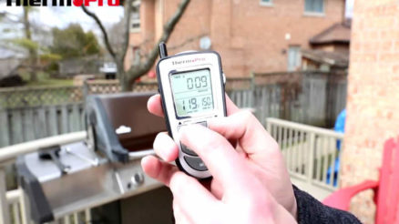 ThermoPro TP09 wireless cooking thermometer