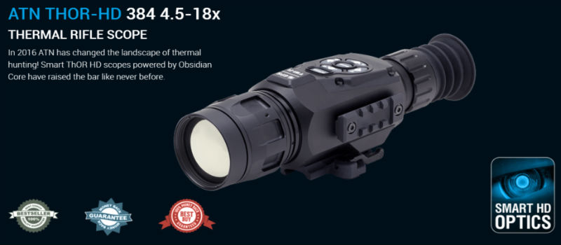 buy the best thermal imaging rifle scope